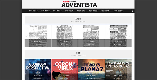 Archivo Revista Adventista